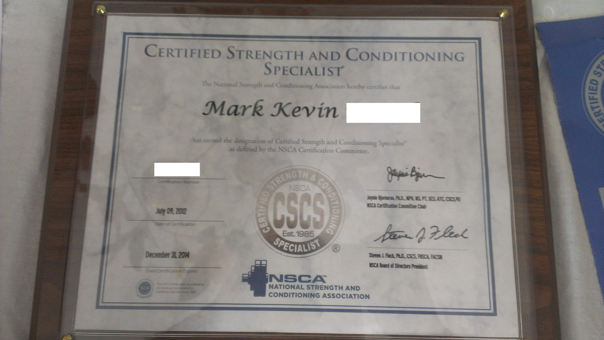 Thinking About Getting Cscs Certified Thoughts From A Non Exercise